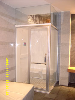 steam room square